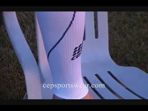 Michael Potter speaks about the NEW CEP Compression Sleeves