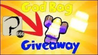 Roblox Booga Booga 500 God bag Giveaway! (Short Video)