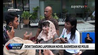 Dewi Tanjung Bawa Bukti Soal Dugaan Rekayasa Kasus Novel Baswedan