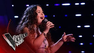 Charley Performs 'Ex-Factor' | Blind Auditions | The Voice Kids UK 2019