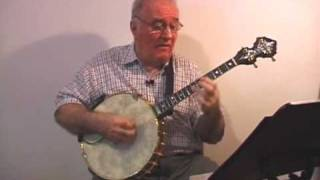"Banjo Music ""Ask Me Now"" Eddy Davis Tenor Banjo"