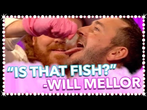 Will Mellor & Tom Read Wilson Play 'Wishy Dishy Did He Washy?' Bottoms Up!  Celeb Juice 2017