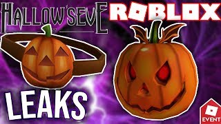 [LEAK] ROBLOX HALLOW EVE EVENT ITEMS 2018 | Leaks and Prediction