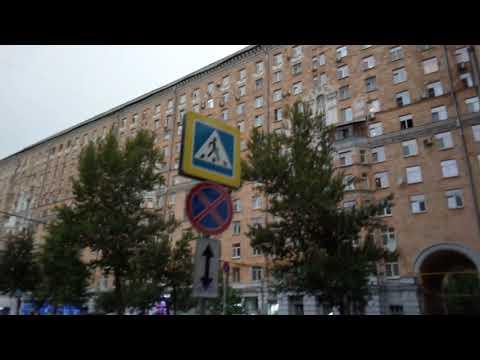 Москва 392 Автозаводская улица лето вечер