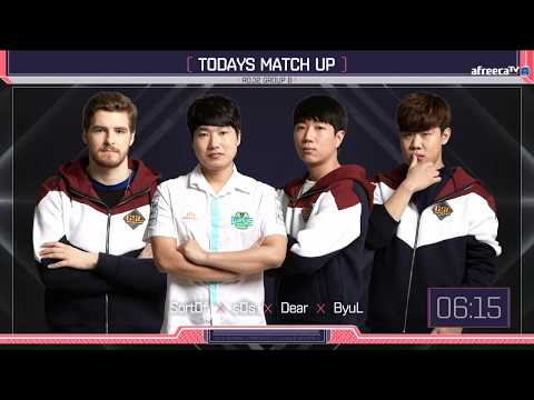 [ENG] 2018 GSL S1 Code S RO32 Group B