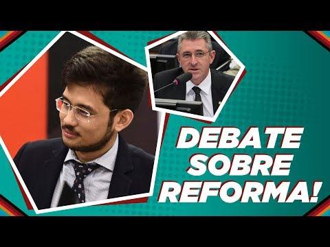Debate completo sobre previdência com deputado da oposição