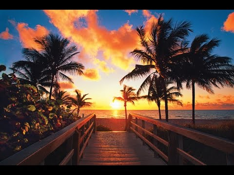 Dji Phantom 4 Beautiful Sunrise Miami