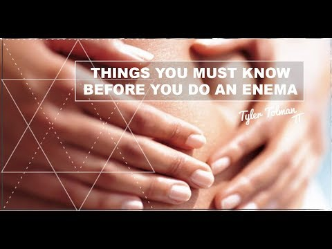 3 Things You MUST Know Before You Do An Enema