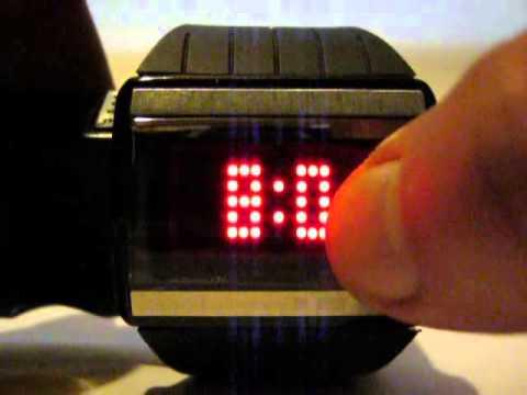 sitio de buena reputación e4c9b b1a5e Unique Design Unisex 30M Waterproof Touch Screen 85 Bright Red LED Watch  from ChinaBuye.com