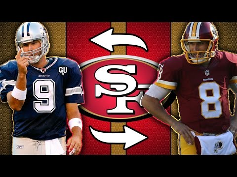 Tony Romo and Kirk Cousins Being TRADED in Deal With 49ers?!?