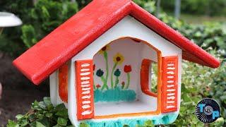 MEGA VOGELHAUS zum bauen für Kinder DIY