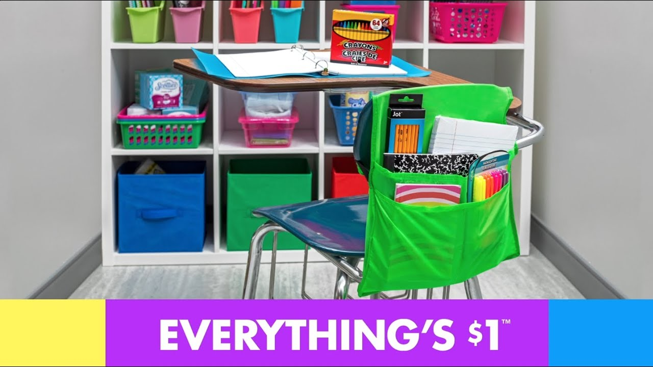 Go Back to School with Dollar Tree
