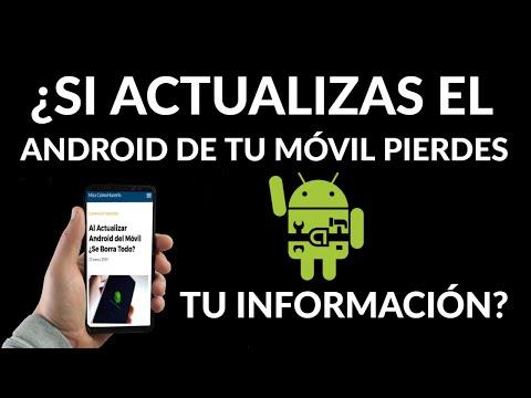 Qué pasa al Actualizar Android ¿Se Borra Todo?