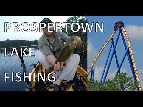 Fishing Prospertown Lake - New Jersey
