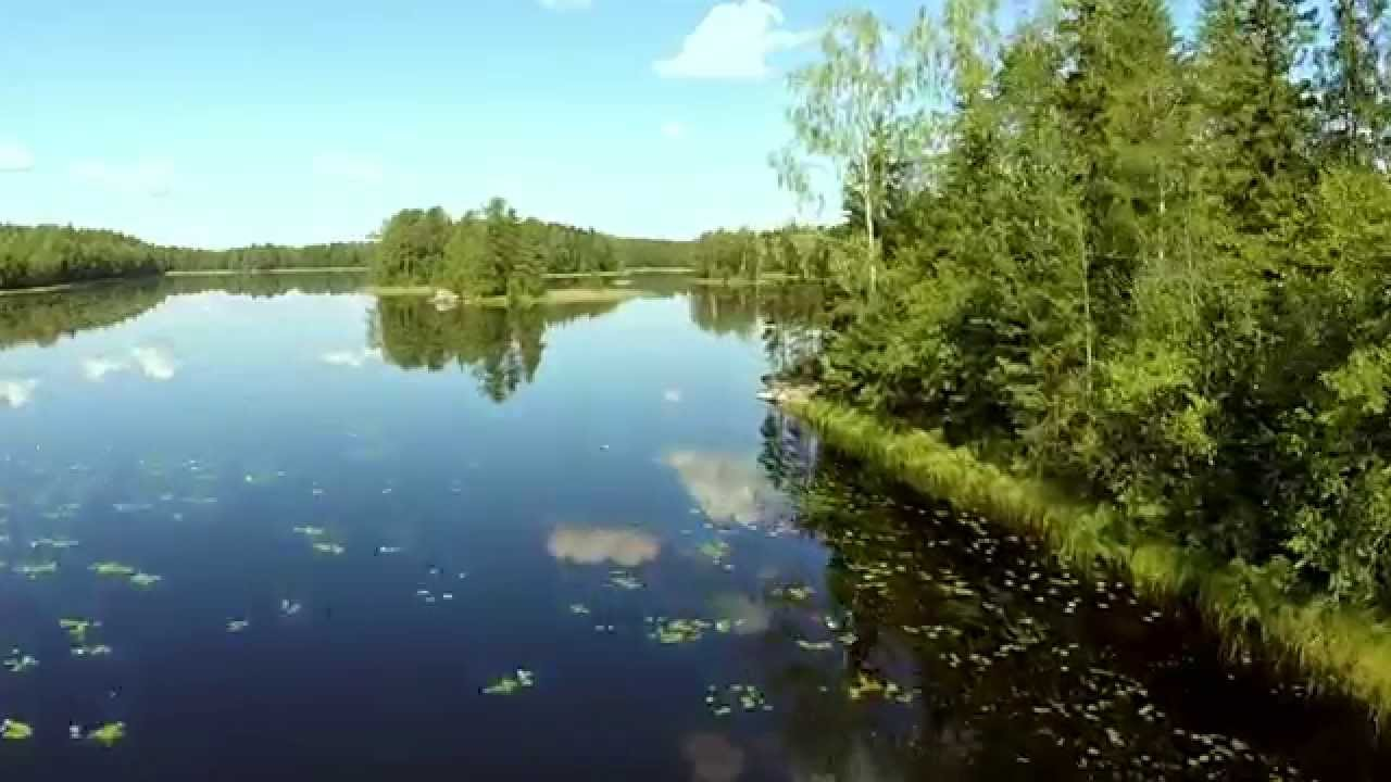 Summer in Finland from a bird's eye view.