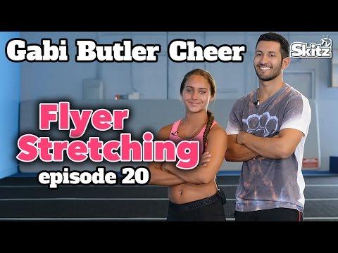 Flyer Stretching | Episode 20 | Gabi Butler Cheer videó letöltés