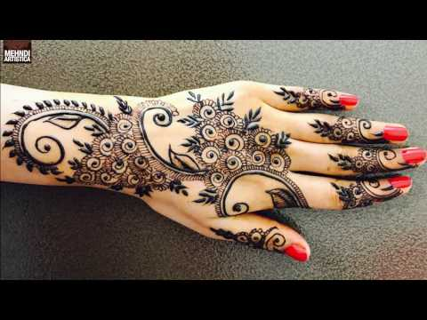 Unique Modern Gulf Henna Mehendi Design | Latest MehndiArtistica Designer Signature Art 2017