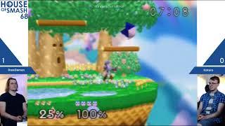 House of Smash 68 - DareDemon vs Kokoro - Losers Quarters - Smash 64