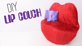 DIY: How to make a doll Lip couch