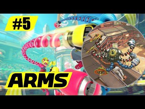 ARMS || #5: Hedlok Scramble!