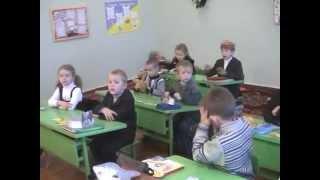 Урок англійської мови 1 клас