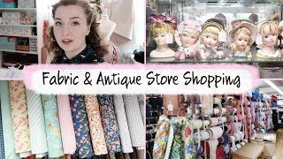 Fabric & Antique Shopping - Adventures in Lancaster Part One