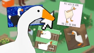 Untitled Goose Game But DESKTOP GOOSE Brings Me Memes