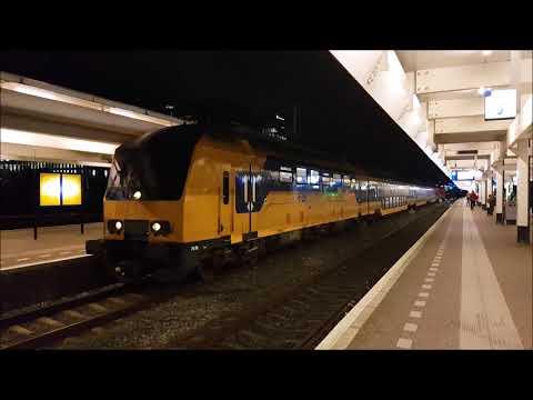 NS DDZ als Intercity  naar Schiphol Airport vanuit Amsterdam Zuid