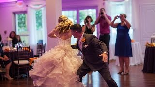 "Best First Dance Ever... song is ""When You Say Nothing At All"" HD"