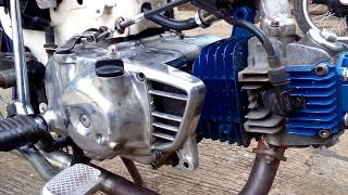 Video Honda C70 up 130cc mesin joos download MP3, 3GP, MP4, WEBM, AVI, FLV Mei 2018