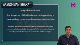 Current Affairs: Ayushman Bharat.