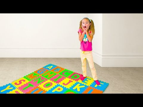ABC Song Learn English Alphabet for Children with Sasha and Nursery Rhyme by Fun Smile Toys