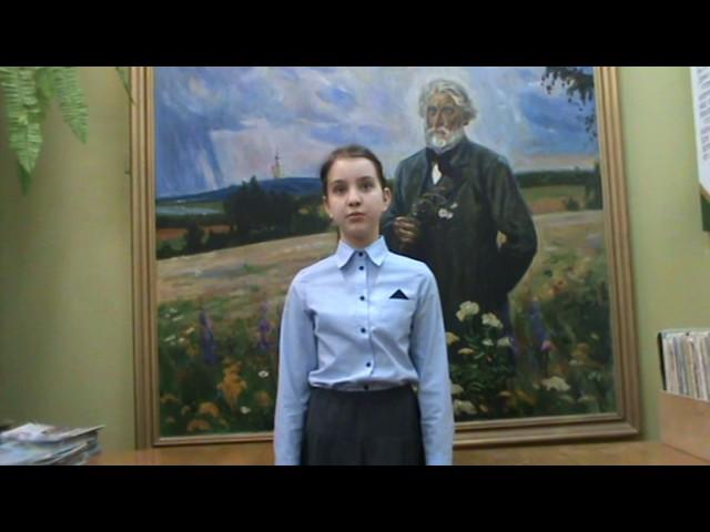 Изображение предпросмотра прочтения – МарияНикитина читает произведение «Неохотно инесмело…» Ф.И.Тютчева