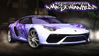 NFS Most Wanted | Lamborghini Asterion Mod Gameplay [1440p60]