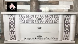 Furniture Makeover with DIY chalk paint