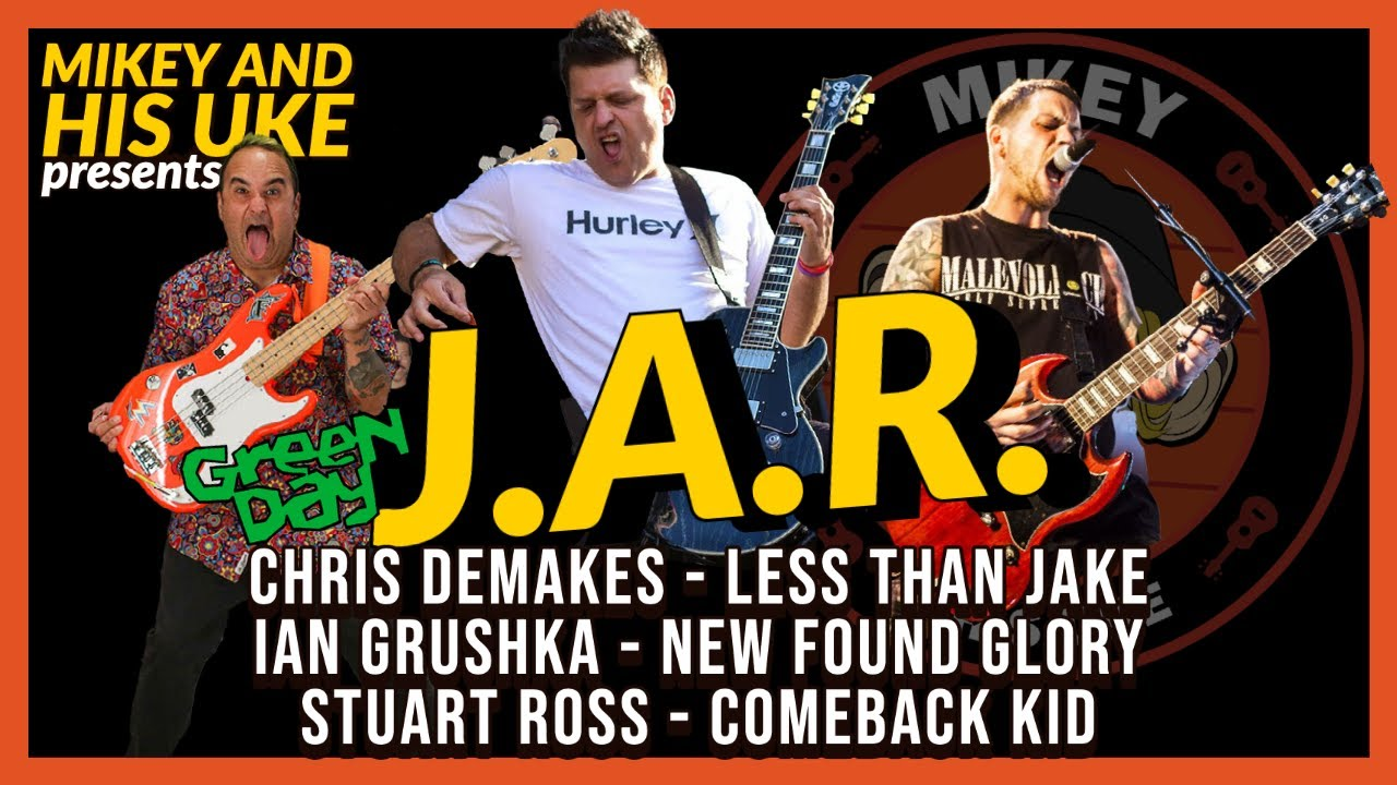 Download GREEN DAY 'J.A.R.' COVER - FEAT: LESS THAN JAKE, NEW FOUND GLORY, COMEBACK KID, PUNK ROCK KARAOKE