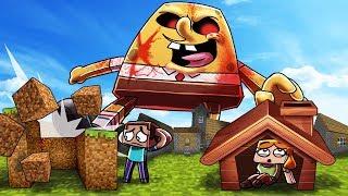 Minecraft | SPONGEBOB.EXE BASE CHALLENGE - Bikini Bottom Destroyed! (Fight or Hide)
