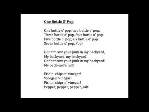 One Bottle Pop