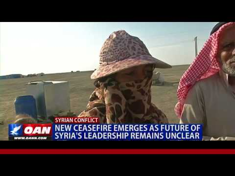 Ceasefire Emerges as Future of Syria's Leadership Remains Unclear