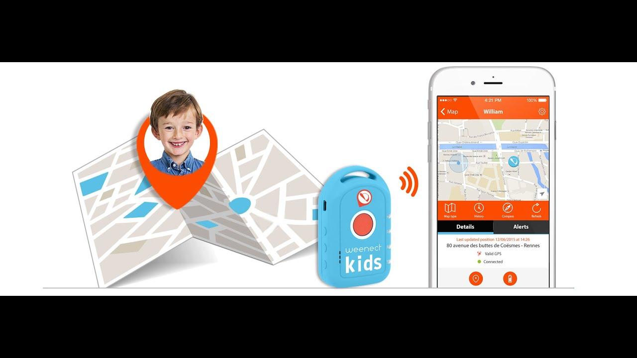 GPS трекер для детей микро - YouTube