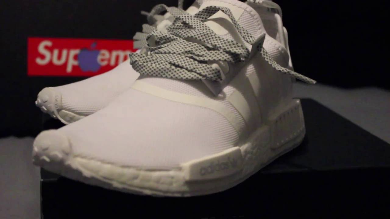 58fa1c34770 How to Lace Adidas NMD The Best Way (Double Loop Method) - YouTube