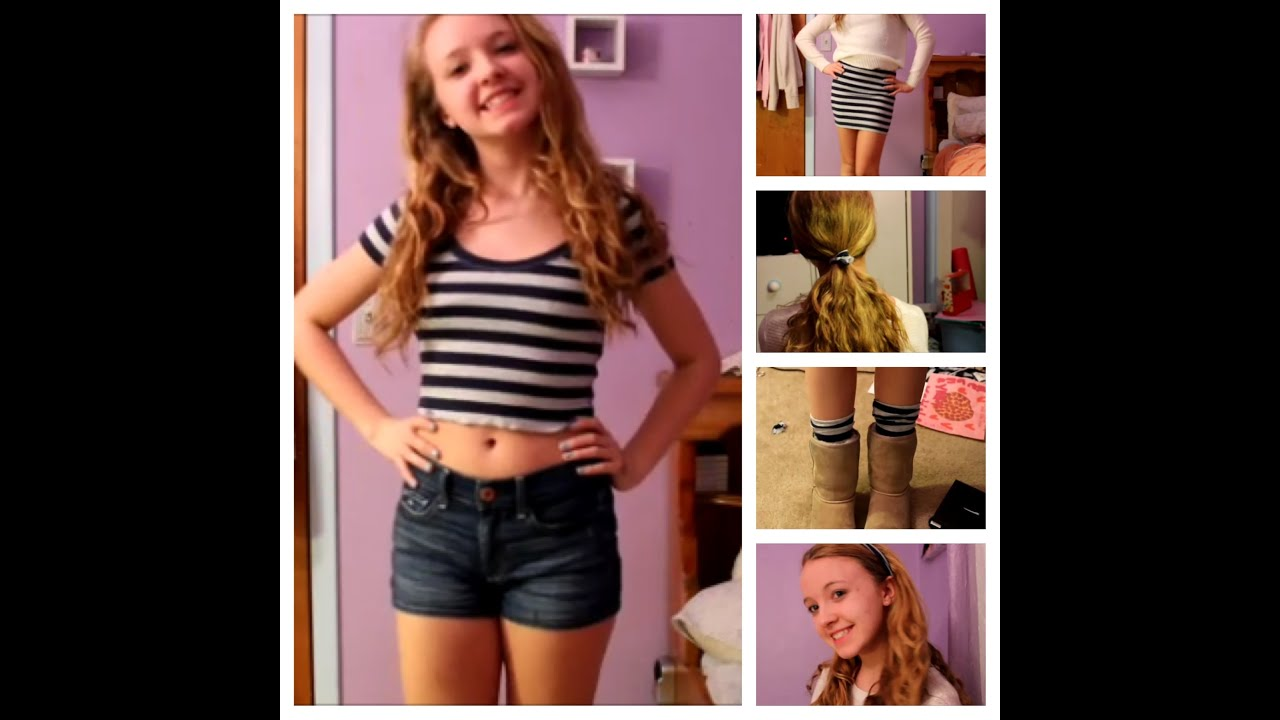 Diy brandy melville inspired shirt youtube - Diy Crop Top American Apparel Brandy Melville Inspired Plus Extras Youtube