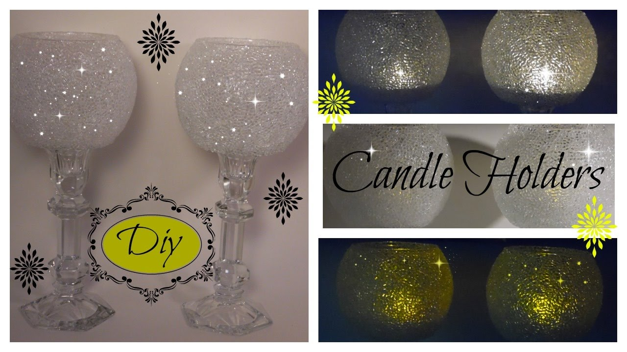 Bling Diy The Original Frosty Bling Candle Holder