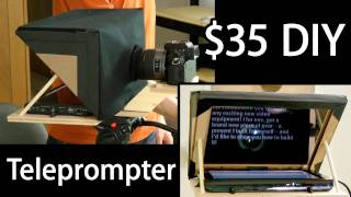 How-to: $35 Diy Teleprompter For Lcd Or Ipad