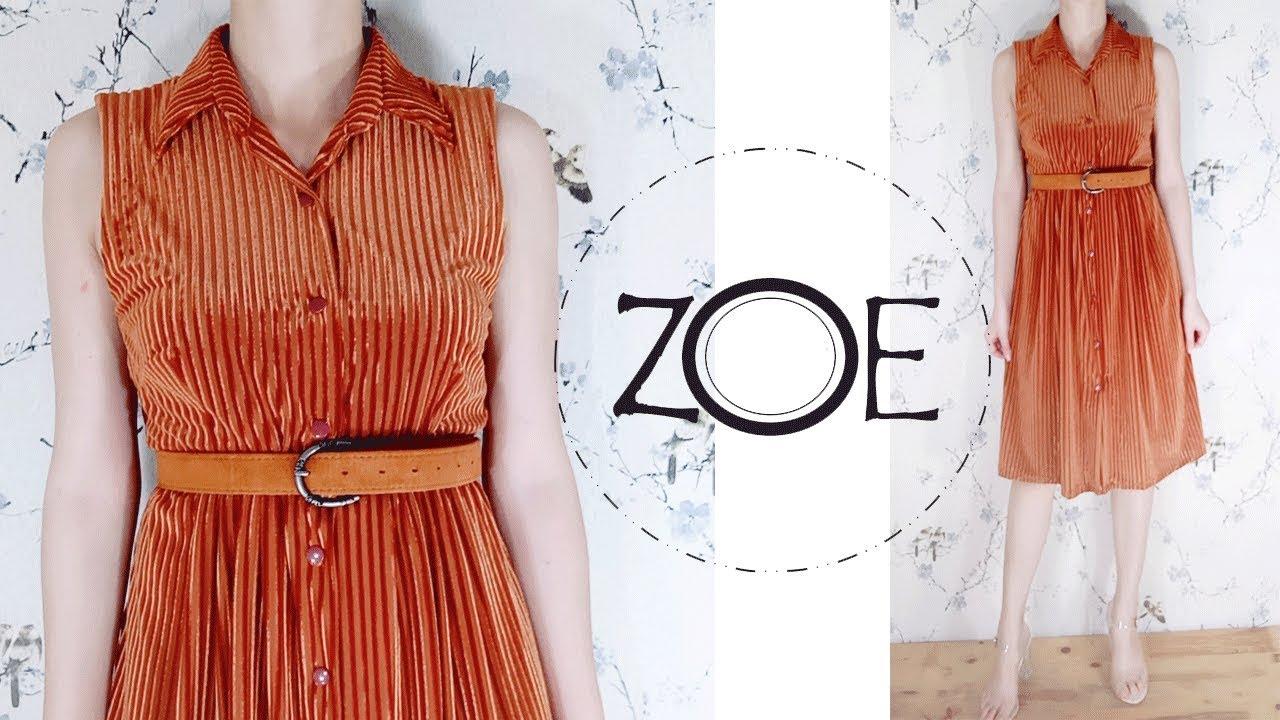 DIY Sewing Shirt Dress | FREE Sewing Patterns | Zoe DIY