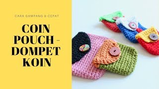 Download Video CROCHET - Coin Pouch/Dompet Koin MP3 3GP MP4