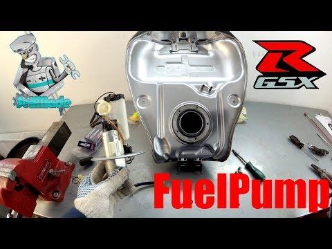 Suzuki Gsxr 600 K6 Замена топливного фильтра