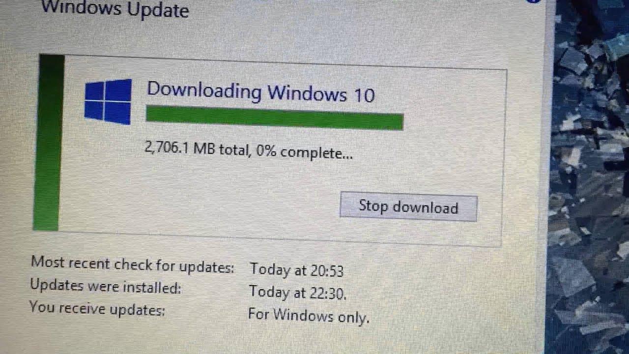 FIX / FYI Windows 10 upgrade stuck at