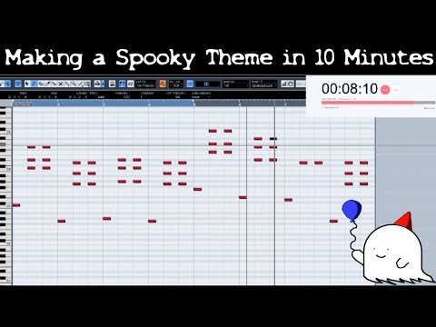 Attempting To Make A Spooky Video Game Theme In 10 Minutes || Shady Cicada