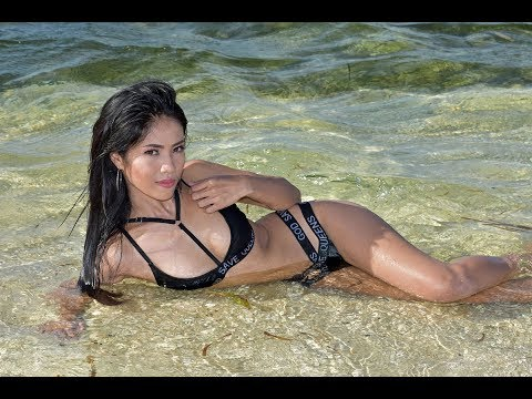 Sexy Philippine Model Natasha Grey Photo Shoot on Tropical Island